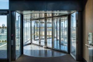 Porte automatique ronde - Axed Manusa